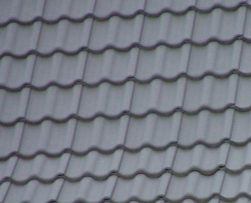 Pfannengedecktes Dach